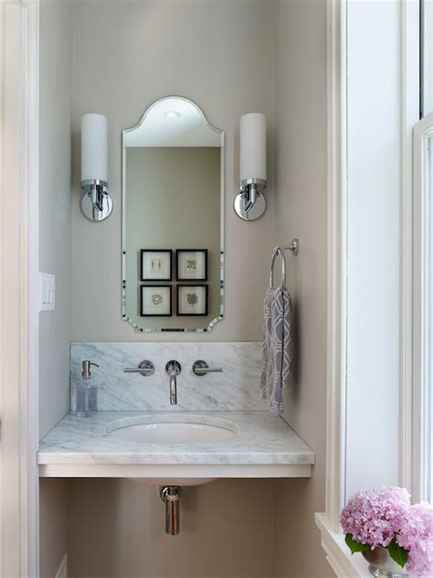 tiny powder rooms tiny powder room cottage bathroom giannetti home