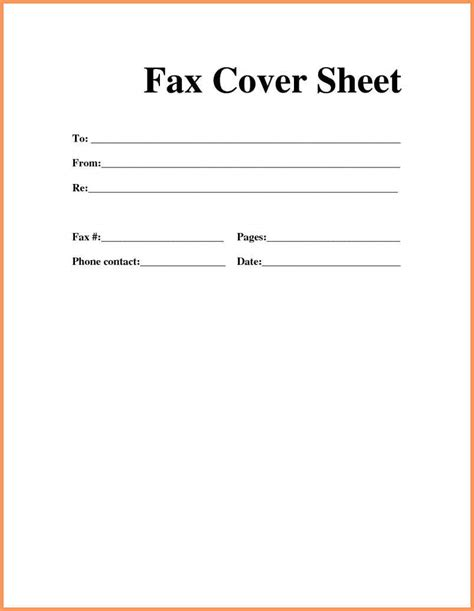 email cover sheet template fax cover sheet pdf emailformatsle