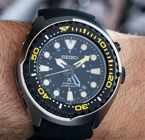 Seiko Diver 200m seiko prospex kinetic gmt diver s 200m on