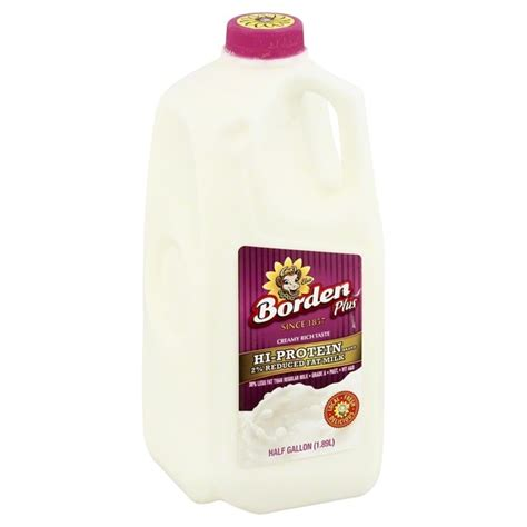 protein 2 milk borden hi protein 2 reduced milk 5 gal from kroger