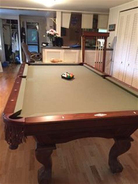 brunswick monticello pool table brunswick billiards monticello pool table sold used pool