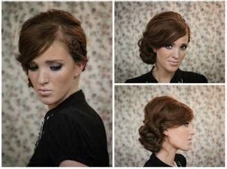 Wedding Hair Side Bun Tutorial by Tutorial Fotografico Capelli Chignon Con Treccia Laterale