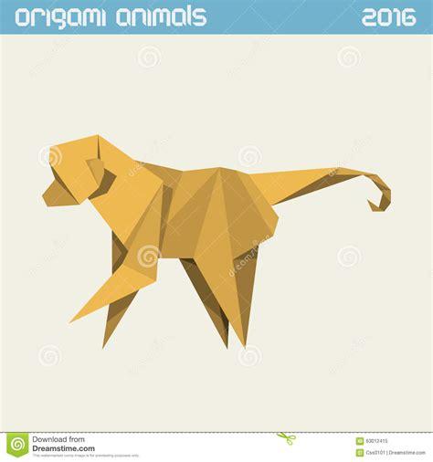 Origami monkey images craft decoration ideas