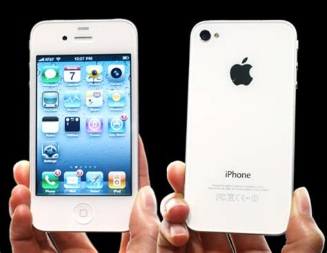Hp Iphone 4 S brand new iphone 4s white for sale sealed technology market nigeria