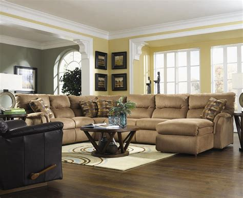 Decorating Living Room With Sectional Sofa 12 Modern Sectional Living Room Ideas Homeideasblog