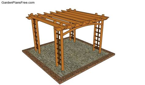 Pergola Plans Free Online 187 Plansdownload Pergola Construction Plans
