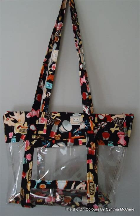 vinyl purse pattern 340 best clear vinyl bags and pouches images on pinterest