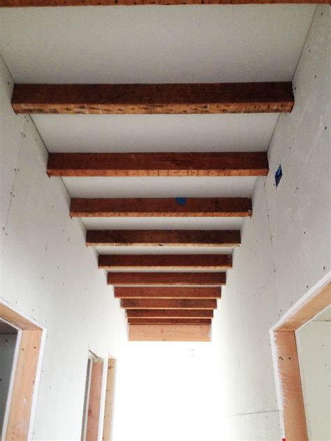 sheetrock and exposed joists deedsdesign