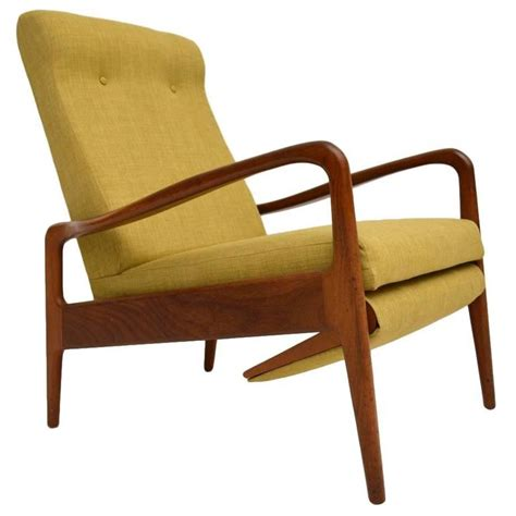 Teak Armchair by Retro Teak Reclining Armchair By Greaves And