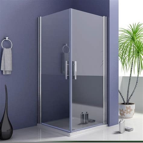 Swing Shower Doors 900x900mm Frameless Shower Enclosure 180 176 Swing Pivot