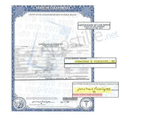 County Of Los Angeles Registrar Recorder Birth Certificate 71 Best Images About State Of California Sle Apostille On Santa