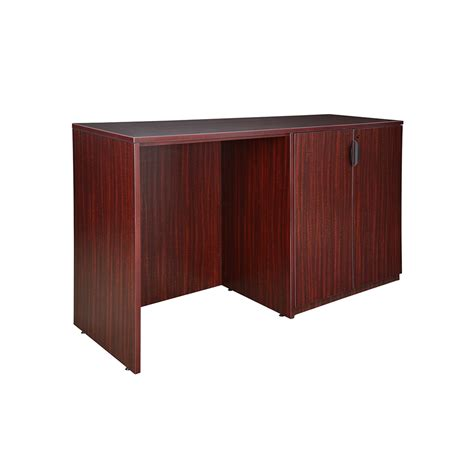 stand up storage cabinets legacy stand up side to side storage cabinet desk mahogany