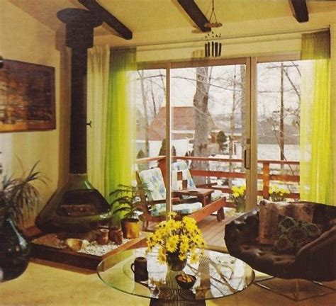 retro home interiors 13 best vintage home decorating books images on