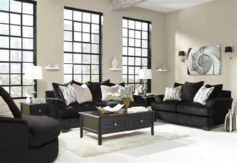 black sofa and loveseat set heflin black fabric sofa and loveseat set a sofa