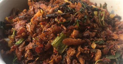 resep cakalang suir pedas khas manado enak