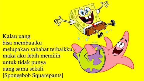 kata bijak film animasi spongebob youtube