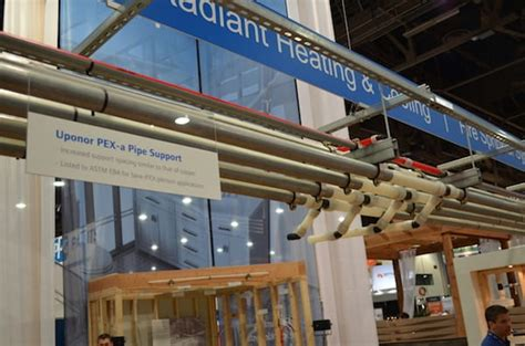 Uponor Plumbing Systems by Mechanical Hub 2016 Ibs Show Uponor Stresses Plumbing