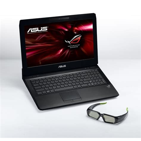 Laptop Asus Windows 7 Ultimate asus g53sw ix097z 15 6 quot 3d gaming laptop intel i7 2630qm 8gb 1000gb windows 7 ultimate