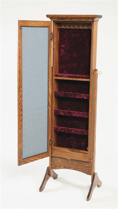 jewelry armoire plans full length mirror jewelry armoire caymancode