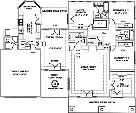desert home plans desert home floor plans house design plans