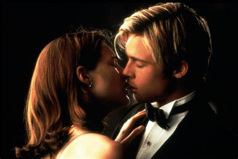 claire forlani and brad pitt relationship brad pitt claire forlani strange bedfellows unlikely