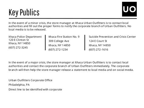 crisis update support the branch while you shop southeast nash urban outfitters crisis communications plan