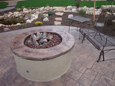cool stamped concrete patio mode denver traditional