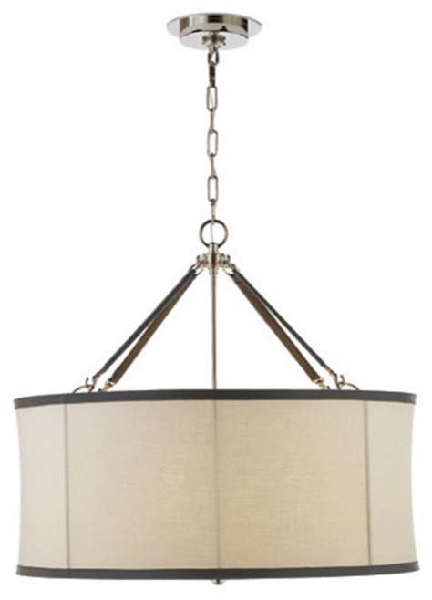 knock off cheaper lambert pendant in polished nickel by broomfield large pendant in polished nickel traditional