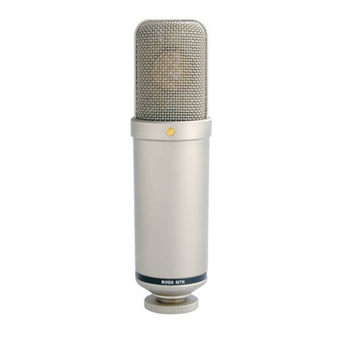 rode microphone rode ntk valve 1 0 quot condenser microphone ntk b h photo