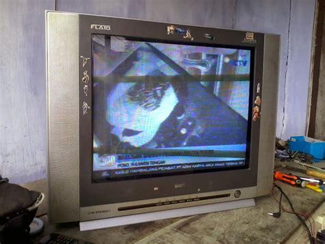 Tv Tabung Beserta Gambarnya belajar tv tabung tv akari flato ic 21f99s gambarnya menyempit atas bawah dan siarannya hilang