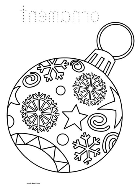 christmas ornament tree to color orniment coloring pages 187 coloring pages