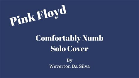 pink floyd comfortably numb solo pink floyd comfortably numb solo cover youtube