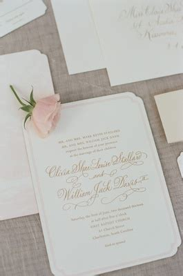 light pink and brown wedding invitations pink and white destination wedding in charleston south