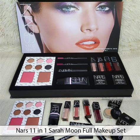 Fuller 1 Set nars 11 in 1 moon makeup set high quality product