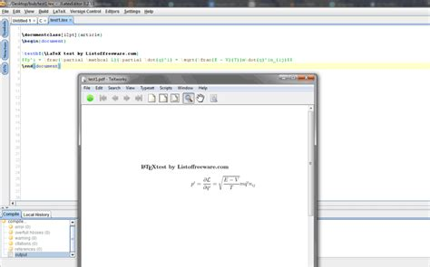 latex software full version free download 13 best free latex editors for windows