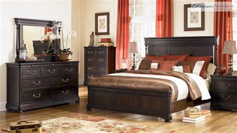 kelling grove bed room collection  millennium design  ashley youtube