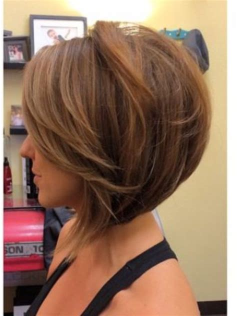 messy inverted bob hairstyles messy stacked bob pretty designs