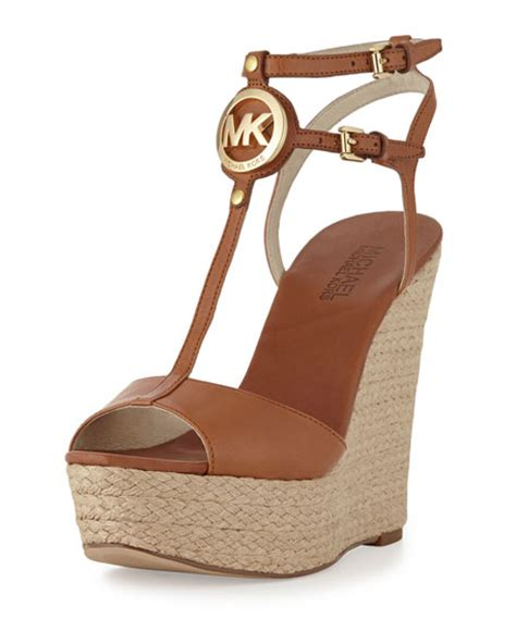 Marc By Marc Sequin Rope Wedges by Michael Kors Keely Logo Wedge Sandal