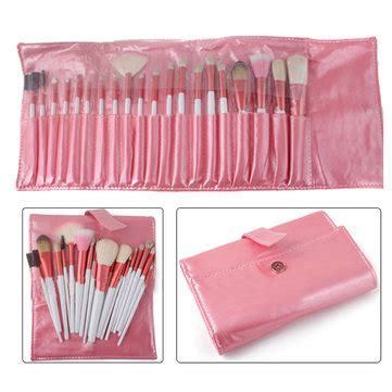 Cosmetic Make Up Brush Set 20pcs Purple 20pcs makeup cosmetic brushes set kit pink leather us 18 99 sold out