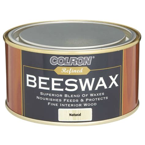 colron refined beeswax wood 400g woodcare