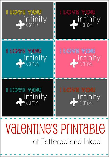 Use Infinity In A Sentence Tattered And Inked A Week Of S Printables