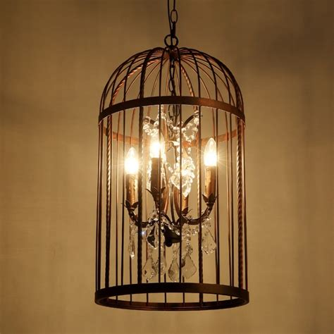 Birdcage Chandelier Vintage Birdcage Chandelier Restoration Ceiling L E14 Light 4 Bulb Antique Loft