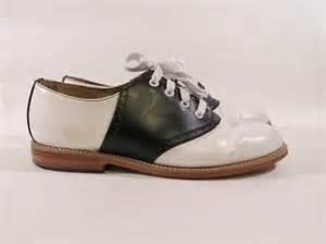 saddle shoes vintage original muffy s black and white saddle shoes size