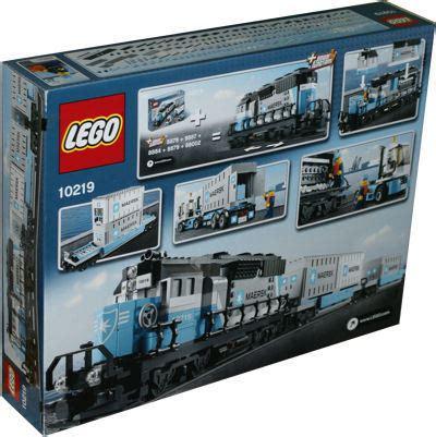 Lego Creator 10219 Maerks lego exklusiv 10219 maersk zug miwarz spielzeug berlin teltow