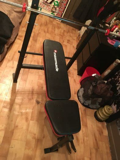maximuscle bench maximuscle weight bench for sale in rathcoole dublin from kinsellasalvageandrecovery