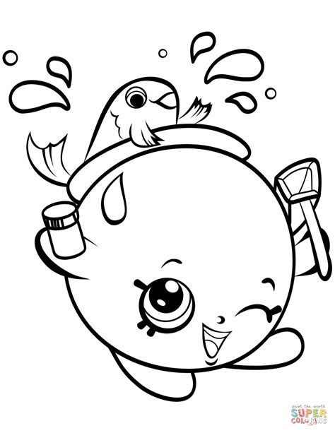 shopkins coloring pages easy easy shopkins milk bud coloring pages printable 1