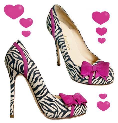 i want bice s zebra pink bow pumps