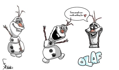 doodle draw olaf olaf doodles by chatoyant11 on deviantart