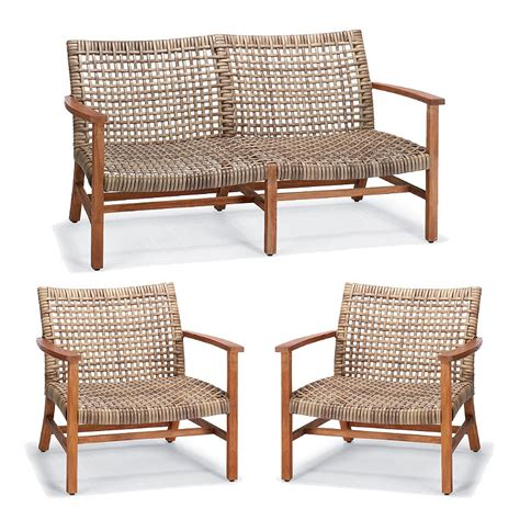 Frontgate Patio Furniture by Curved Wicker Outdoor Furniture Frontgate