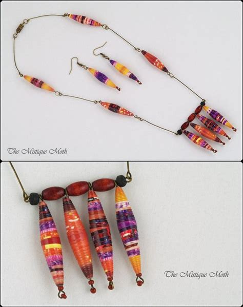 paper bead patterns paper jewelry pictures of and unique on